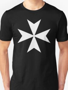 Cross of the Knights Hospitaller Unisex T-Shirt