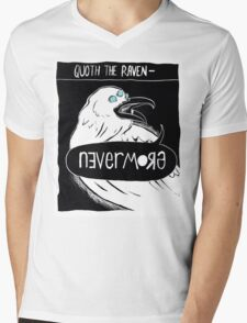 Quoth the Raven - Nevermore V2 Mens V-Neck T-Shirt
