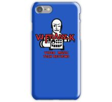 VJ FRANZ K Character Logotype iPhone Case/Skin