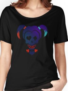 Harley Quinn emoji Women's Relaxed Fit T-Shirt