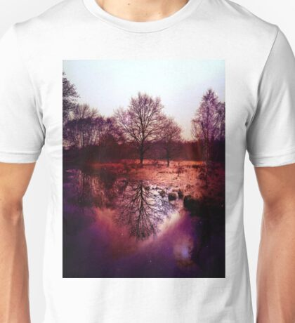 Tree Reflection Unisex T-Shirt