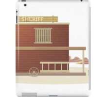 Western Sheriff iPad Case/Skin