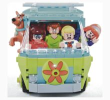 Lego Scooby Doo and The Mystery Machine One Piece - Long Sleeve