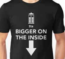 Its Bigger On The Inside Unisex T-Shirt