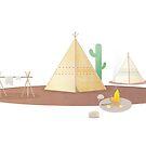 Western Camp by Berker Sirman