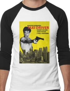 Taxi Driver Poster Travis Bickle Men's Baseball ¾ T-Shirt