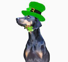 Saint Patrick's Day Pooch Unisex T-Shirt