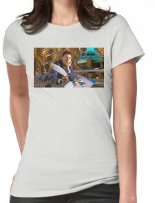 DRAW ME LIKE ONE OF YOUR ORGANIC CARBON BASED FEMALES OF FRENCH ORIGIN!!! Womens Fitted T-Shirt