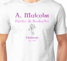 A. Malcolm Printer & Bookseller Unisex T-Shirt