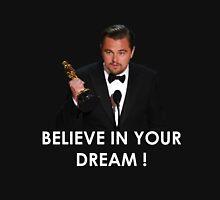Leonardo Dicaprio Oscar dream Unisex T-Shirt