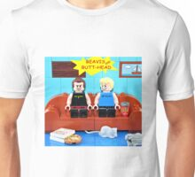 Lego Beavis and Butthead Unisex T-Shirt