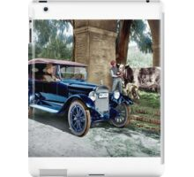 Colorize 1919 Chalmers Touring iPad Case/Skin