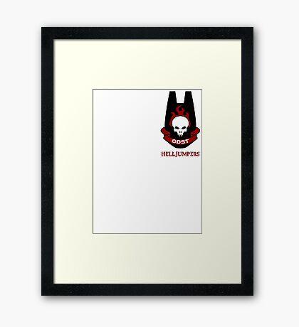 ODST Helljumpers Framed Print