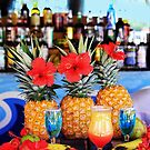 Tropical colourful cocktails by Bruno Beach