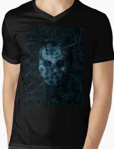 Jason mask Mens V-Neck T-Shirt