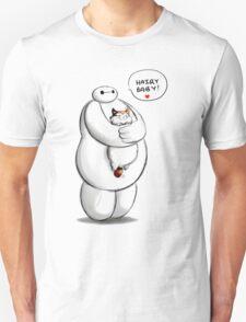 baymax hairy baby hero Unisex T-Shirt