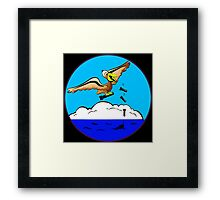 WWII Civil Air Patrol Patch Framed Print