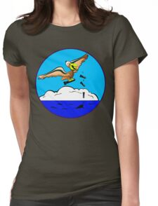 WWII Civil Air Patrol Patch Womens Fitted T-Shirt