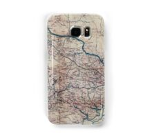 001  A map of Fairfax County and parts of Loudoun and Prince William Counties Va and the District of Columbia Samsung Galaxy Case/Skin