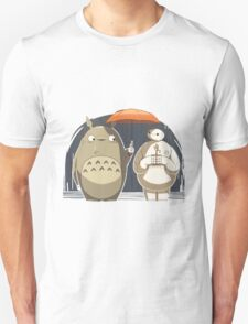 Totoro and Baymax T-Shirt