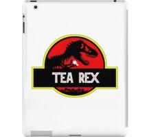 Tea Rex Coffee Relax iPad Case/Skin