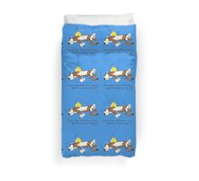 Calvin And Hobbes Quote Duvet Cover