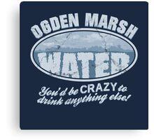 Ogden Marsh Water Canvas Print