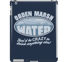 Ogden Marsh Water iPad Case/Skin