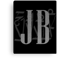J B Birthday Canvas Print