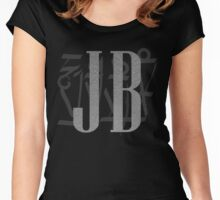 J B Birthday Women's Fitted Scoop T-Shirt