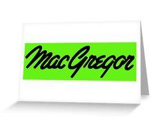 Conor McGregor UFC Greeting Card