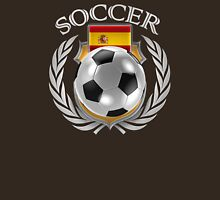Spain Soccer 2016 Fan Gear Unisex T-Shirt