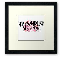 The 100 - Yu Gonplei Ste Odon - Pink Framed Print