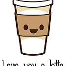 LUV U LATTE by rule30