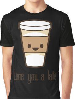 LUV U LATTE Graphic T-Shirt