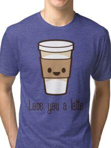 LUV U LATTE Tri-blend T-Shirt