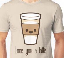 LUV U LATTE Unisex T-Shirt