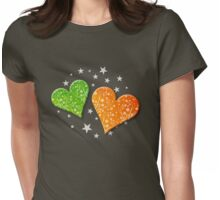 The Garden of Love Womens Fitted T-Shirt