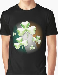 Eerie irish shamrock Graphic T-Shirt