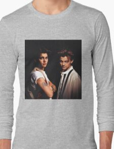 Leonardo DiCaprio and Johnny Depp Long Sleeve T-Shirt