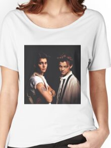 Leonardo DiCaprio and Johnny Depp Women's Relaxed Fit T-Shirt