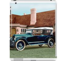 Colorized 1919 Paige Touring Car iPad Case/Skin