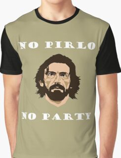 No Pirlo No Party Graphic T-Shirt