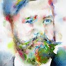 SIGMUND FREUD - watercolor portrait.10 by lautir