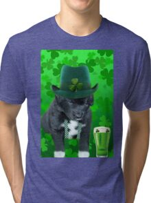 ♥‿♥ DO U EVER FEEL AFTER A FEW DRINKS YOUR SEEING WAY TOO MANY SHAMROCKS?? ♥‿♥ Tri-blend T-Shirt