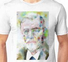 SIGMUND FREUD - watercolor portrait.11 Unisex T-Shirt