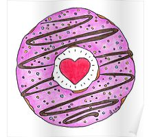 Donut Love Poster