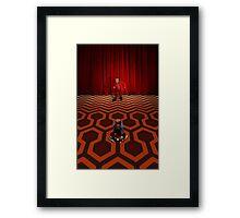 Shinning Dany Kubrick / Twin Peaks Lynch Framed Print