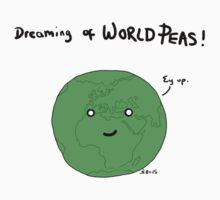 World Peas One Piece - Short Sleeve