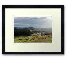 From Roman road to Moody Moor Framed Print